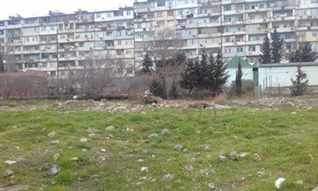 Xətai rayonunda bu ərazi də satıldı