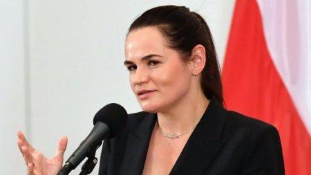Tixanovskaya müəssisələrə sanksiya tətbiq edilməsini təklif etdi